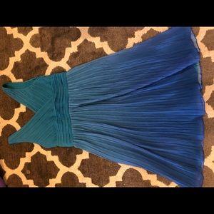 Sigrid olsen dress size 6 blue